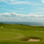 Looking out to the 11th at Elie
