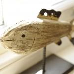 Wooden fish ornament
