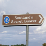 sign to scotland's secret bunker