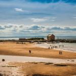 Beach house at the sea